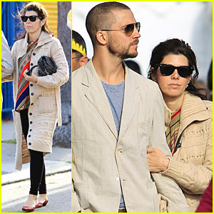 Marisa Tomei & Logan Marshall Green: Thai Town Twosome