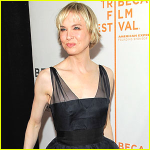 Renee Zellweger: New 'Do in the Dining Room!
