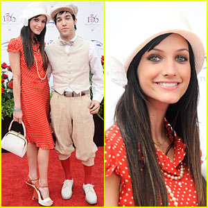 Ashlee Simpson & Pete Wentz: Kentucky Derby Duo