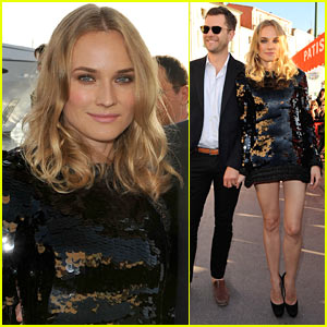 Diane Kruger & Joshua Jackson: Chanel Cruise Couple