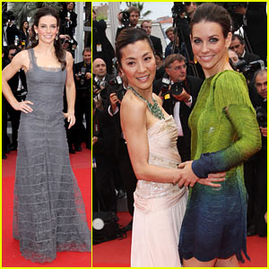 Evangeline Lilly: Cannes Red Carpet!