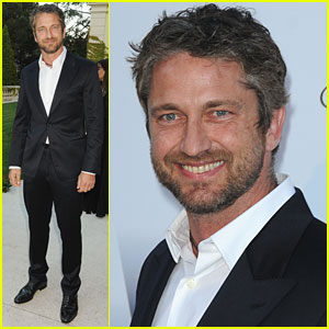Gerard Butler is amfAR Amazing