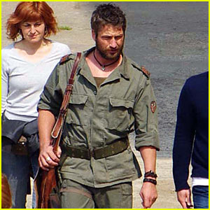 Gerard Butler: Shooting in Serbia!