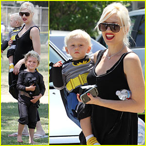 Gwen Stefani: Superhero Party with Kingston & Zuma!