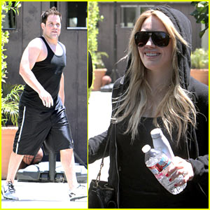 Hilary Duff & Mike Comrie: Pasternak Pair