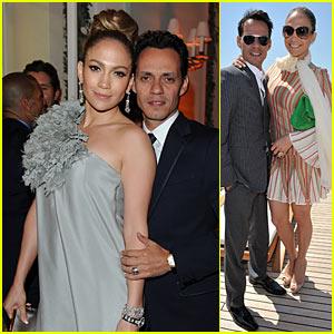 Jennifer Lopez & Marc Anthony: Bonjour, Cannes!