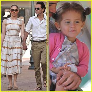 Jennifer Lopez & Marc Anthony: Pucci Pair