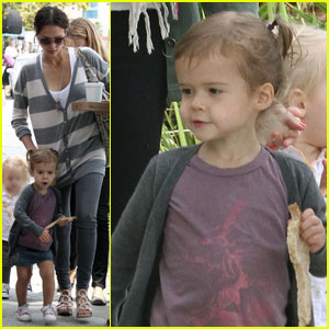 Jessica Alba & Honor Warren: Playdate Pair