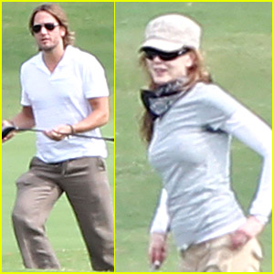 Nicole Kidman & Keith Urban Go Golfing