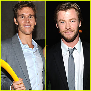 Ryan Kwanten & Chris Hemsworth: Australians in Film Fellows