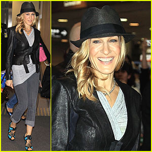 Sarah Jessica Parker Jets Off to Japan