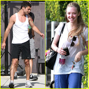 Amanda Seyfried & Dominic Cooper: Pasternak Pumped