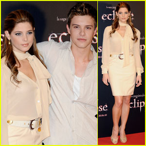 Ashley Greene & Xavier Samuel: Madrid Premiere Pair