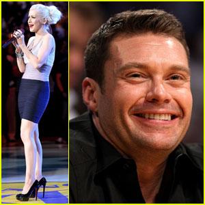 Christina Aguilera: Lakers Win!