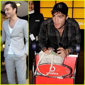 Ed Westwick Greets Fans Down Under
