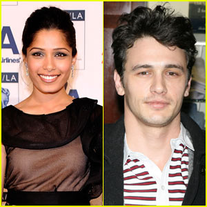 Freida Pinto: 'Rise of the Apes' with James Franco!