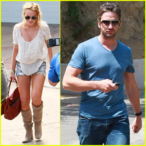 Gerard Butler: Private Party with Lindsay Lohan!