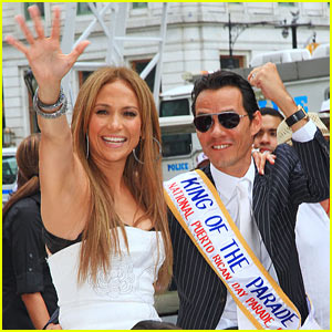Jennifer Lopez & Marc Anthony: Puerto Rican Day Parade