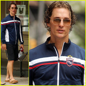 Matthew McConaughey Is Team USA