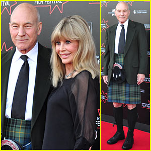 Patrick Stewart: Kilt for Edinburgh Film Festival!