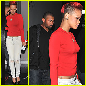 Rihanna: Dinner Date with Matt Kemp!