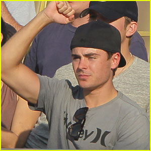 Zac Efron is a Dodgers Dude