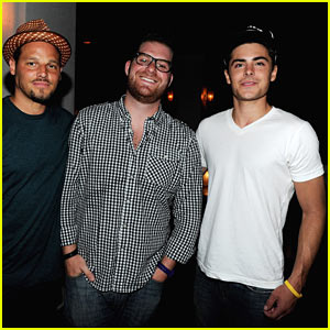 Zac Efron &#038; Justin Chambers: The Happiest Men Alive