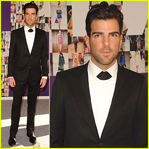 Zachary Quinto: CFDA Fashion Awards with Simon Spurr!