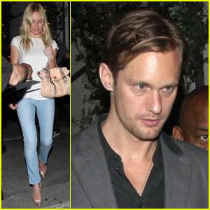 Alexander Skargard & Kate Bosworth: Cast Party Partners