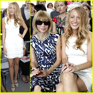 Blake Lively &#038; Anna Wintour Pair Up For Paris Fashion Week
