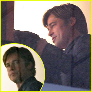 Brad Pitt's Moneyball Set Pictures -- FIRST LOOK!