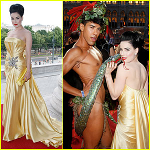 Dita Von Teese: Life Ball Got Rained Out!