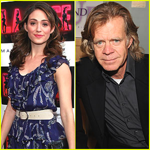 Emmy Rossum & William H. Macy are SHAMELESS