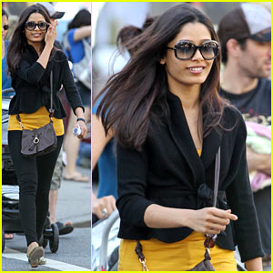 Freida Pinto: Rise of the Rupert Wyatt!