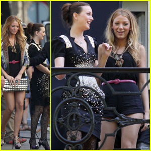Leighton Meester & Blake Lively: Baccarat Beauties