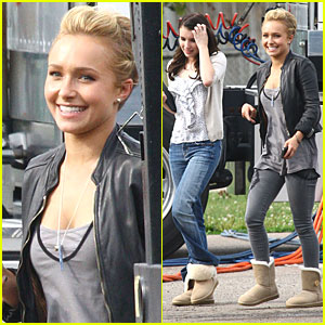 Hayden Panettiere: 'Having A Blast' with Scream 4!