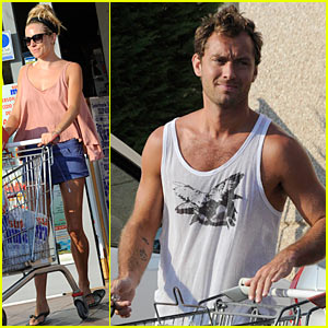 Sienna Miller: Grocery Shopping with Jude Law!