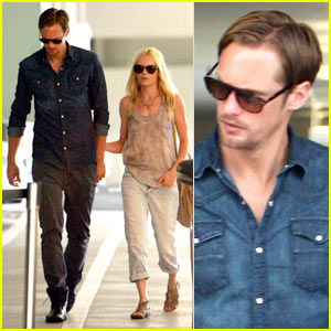 Kate Bosworth: Burberry Shopping with Alexander Skarsgard!