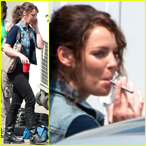 Katherine Heigl: Electronic Cigarette Smoker