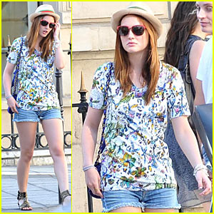 Leighton Meester & Jessica Stam: Celine Shoppers