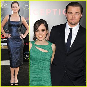 Leo DiCaprio & Ellen Page: Inception L.A. Premiere!