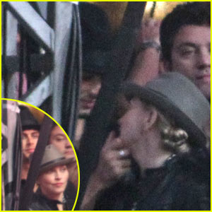 Madonna Kisses Jesus at Jay-Z Concert