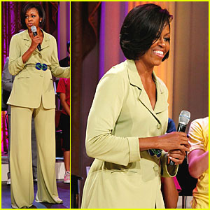 Michelle Obama: The Great White Way at The White House!