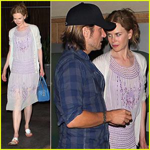Nicole Kidman & Keith Urban Salt Up Their Evening