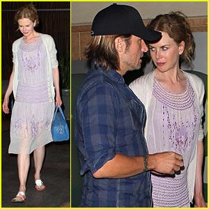 Nicole Kidman & Keith Urban Salt Up Their Evening