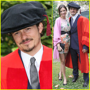 Orlando Bloom Gets A Degree!
