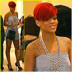 Rihanna: Bajan Babe at Barney's!