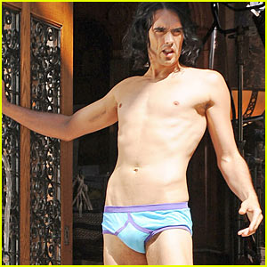Russell Brand as Underwear Model -- HOT or NOT?