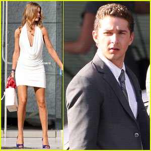 Rosie Huntington-Whiteley & Shia Labeouf: Transformers Tandem!