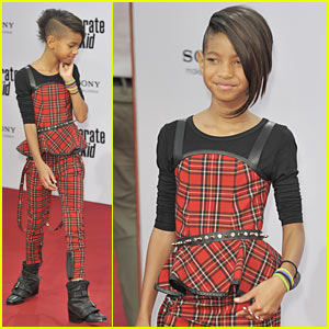 Willow Smith: Tartan Princess
